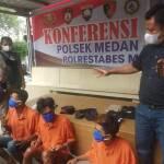 Reskrim Polsek Medan Area Ciduk Pelaku