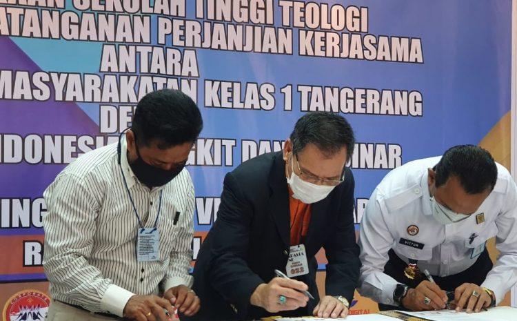 Lapas Kelas 1 Tangerang Menjalin Kerjasama Dengan Yayasan Indonesia Dengan Pembukaan Sekolah Tinggi Teologi Victory