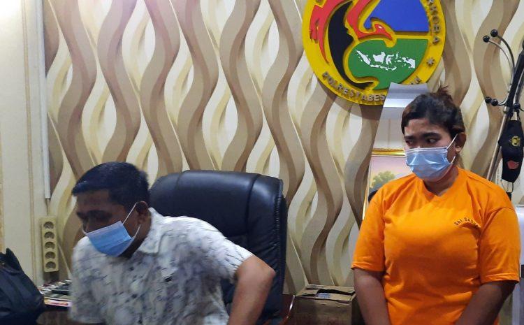 Ibu Dua Anak Pengecer Sabu Sabu Ditangkap Unit III Sat Res Narkoba Polrestabes Medan