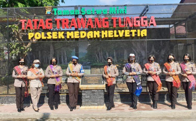Kartini-Kartini Polsek Medan Helvetia, Memberi Semangat Kepada Kartini Lainnya Di Masa Pandemi Covid-19