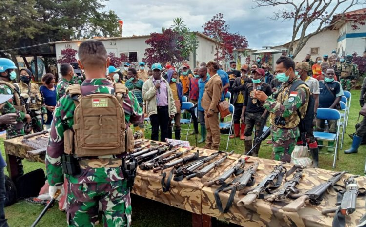 Satgas Indo RDB TNI Konga XXXIX-C MONUSCO Berhasil Turunkan Milisi Bersenjata Terbesar di Kongo