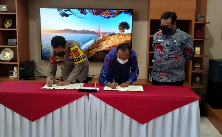 Tingkatkan Pelayanan Publik, Polda Banten MOU Dengan Ombudsman Perwakilan Banten
