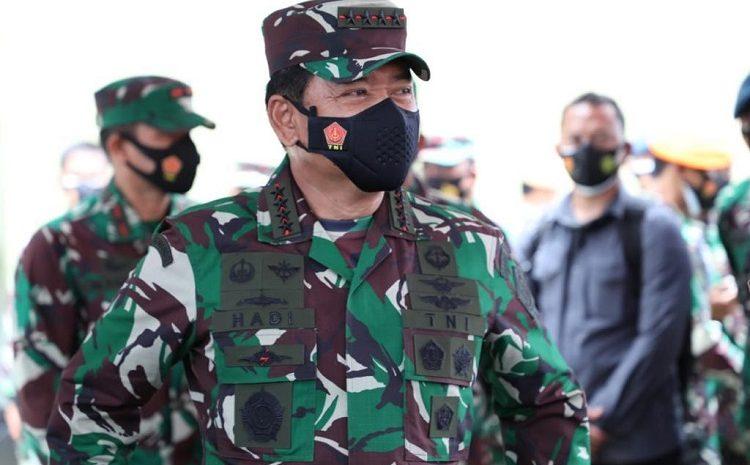 Panglima TNI : Usai Serangan Teroris Di Makassar Dan Jakarta, TNI Tingkatkan Pengamanan
