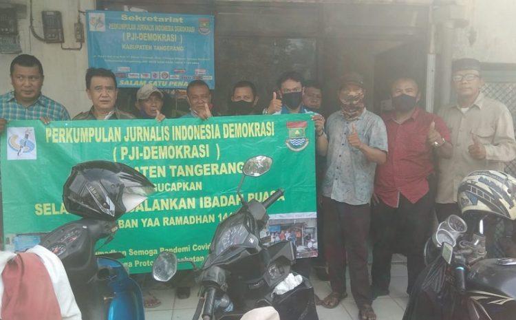 DPC – PJI Demokrasi Kabupaten Tangerang, Silaturahmi Menjelang Bulan Suci Ramadhan