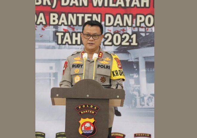 Kapolda Banten : Menambang, Pedomani UU Dan Etika Lingkungan