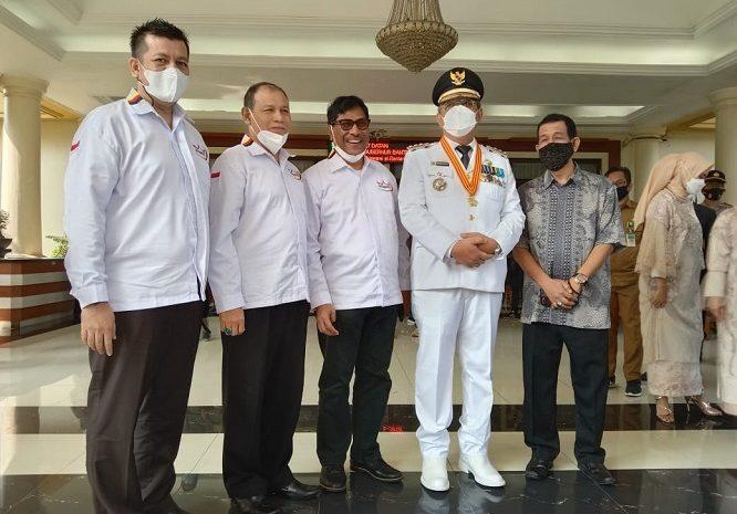 IKM Kota Tangsel, Dampingi Pelantikan Walikota Tangsel Tepilih Benyamin – Pilar