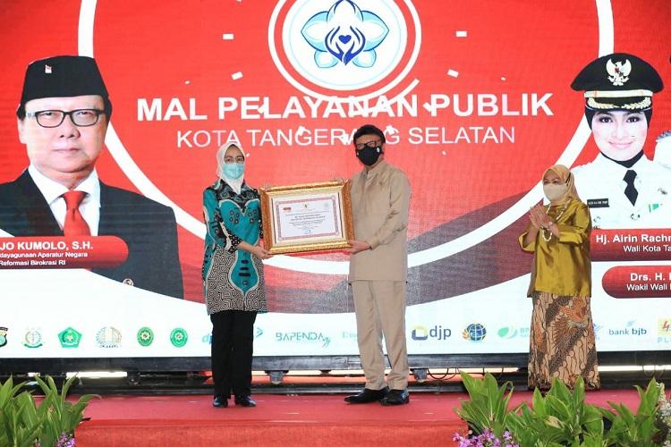 MPP (Mal Pelayanan Publik) Kota Tangerang Selatan Diresmikan