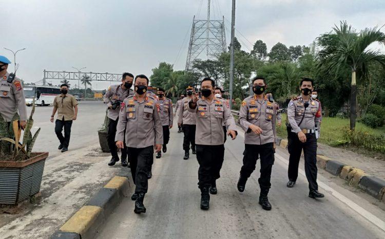 Kapolda Banten Tinjau Secara Langsung Pos Pengamanan Lebaran