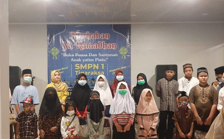 Menjelang Hari Raya Idul Fitri Alumni 94 SMPN 1 Menggelar Bukber Dan Santunan Yatim Piatu
