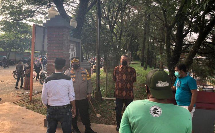 Walikota Dan Kapolres Tangsel Bubarkan Pengunjung Wisata Jaletreng
