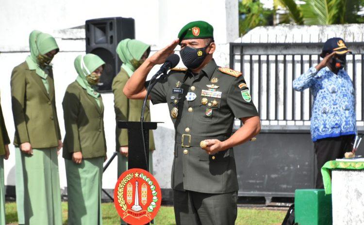 Hormati Jasa Pahlawan, Korem 174 Merauke LaksanakanZiarah Rombongan Dalam Rangka HUT Ke-58 Kodam XVII/Cenderawasih
