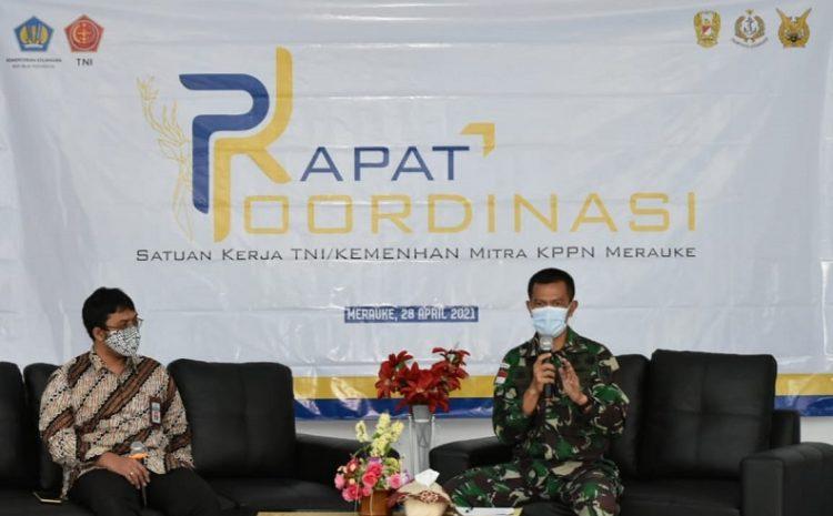 KPPN Merauke Percayakan Korem 174 Sebagai Narasumber Rakor Dan Diskusi Panel