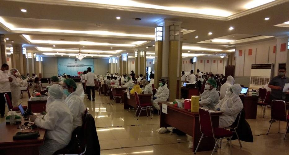 Pengurus Divisi Sutradara Sukseskan Program Nasional Vaksinasi Covid-19, KFT Indonesia Gelar Vaksin