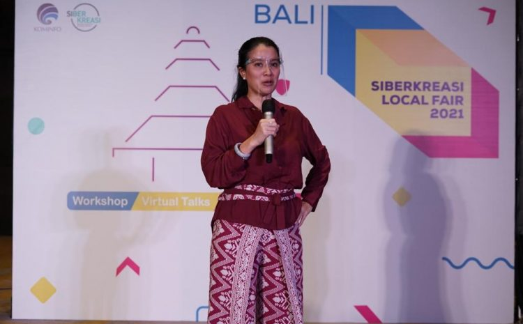 Bangkitkan Ekonomi Digital Desa di Bali Lewat Siberkreasi Local Fest