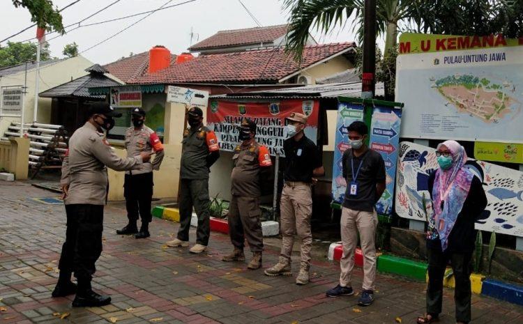 Ops Yustisi Gabungan Polsek Kepulauan Seribu Selatan Jaring 14 Pelanggar ProKes