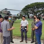 Heli Super Puma Dukung Evakuasi Dua