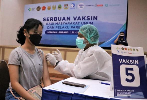 Serbuan Vaksinasi Di Seskoau Targetkan 10.000 Peserta