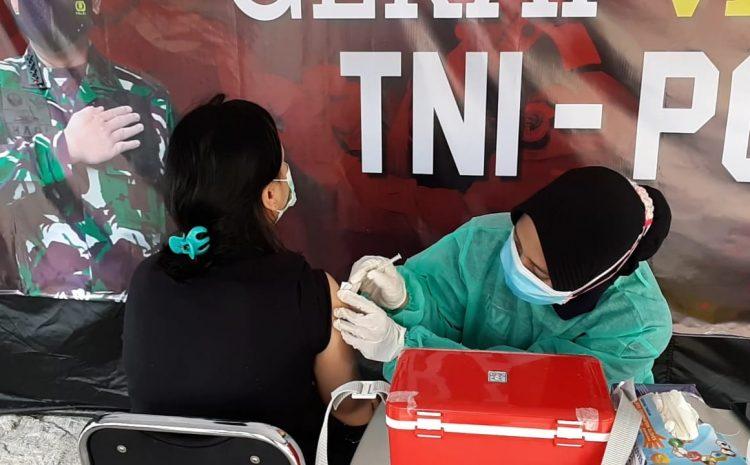 20 Peserta Hari Ini Jalani Suntik Vaksin di Gerai Vaksin Presisi Polres Kepulauan Seribu