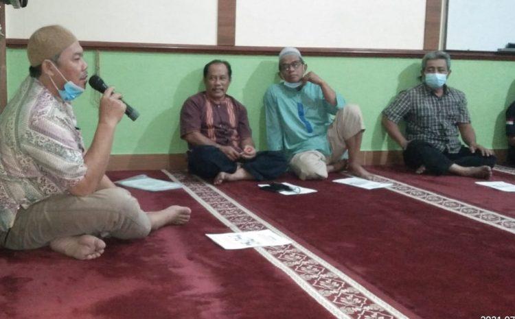 Mushollah AN-NUR Gelar Rapat Pembubaran Panitia Qurban 1442 Hijriah Pahala 2 Karang Tengah