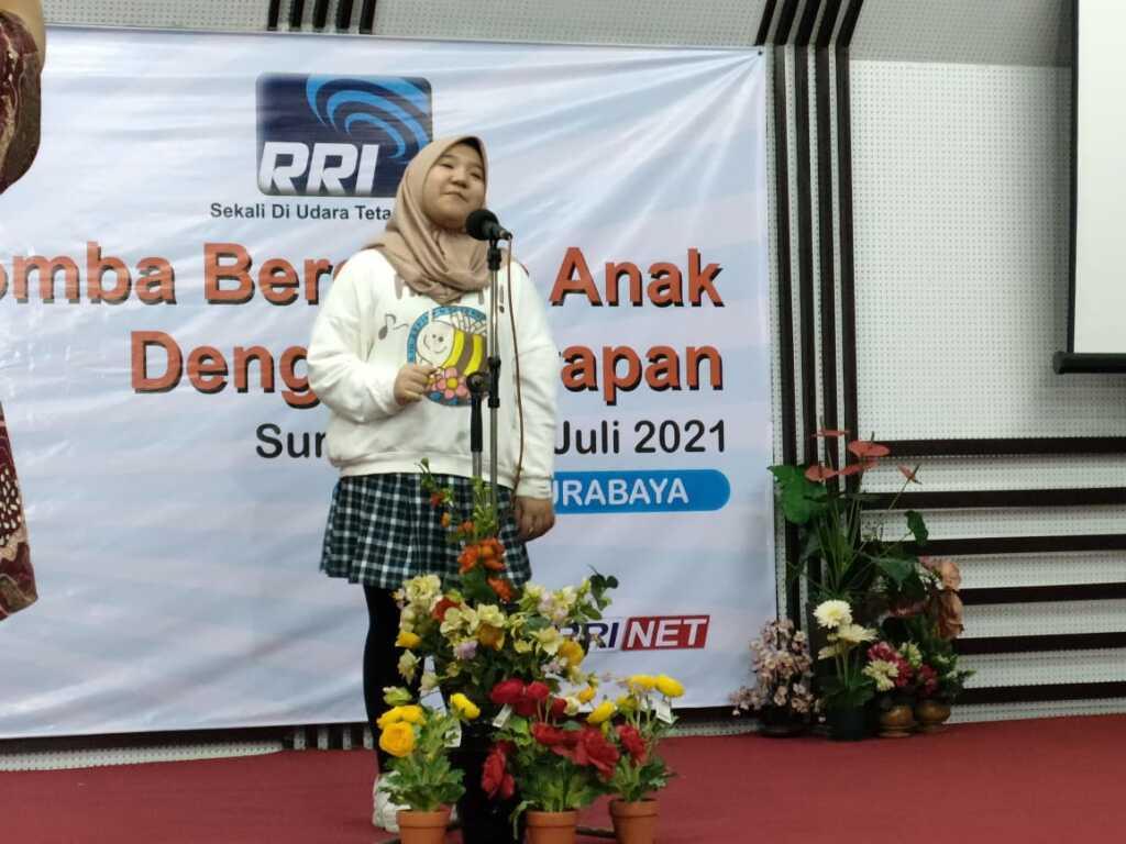 Peringatan Hari Anak Nasional RRI Mengadakan Lomba Mendongeng Menuju Tingkat Nasional di Jakarta