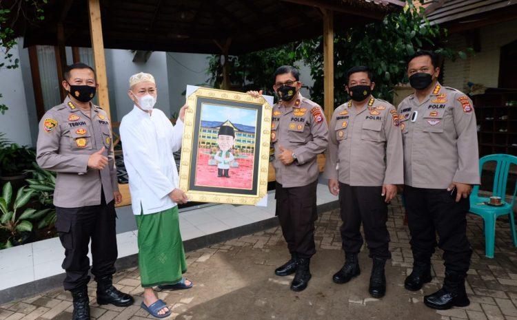 Wakapolda Banten Sowan Sesepuh ke Tokoh Agama Banten