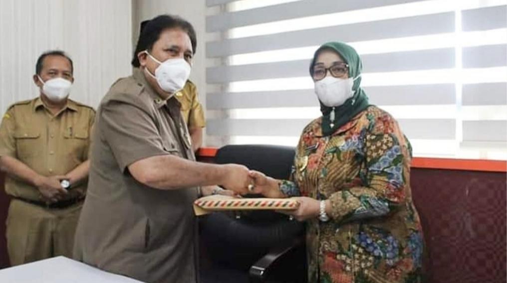 Wakil Bupati Labuhanbatu Terima Memo Kesehatan Dari BP-HJC Sumatera Utara