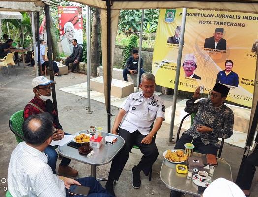 Evaluasi Program Kerja Jurnalis 2021 Di Kedai Kopi (MAQHA) & Kuliner Masjid Al Madinah CBD Ciledug