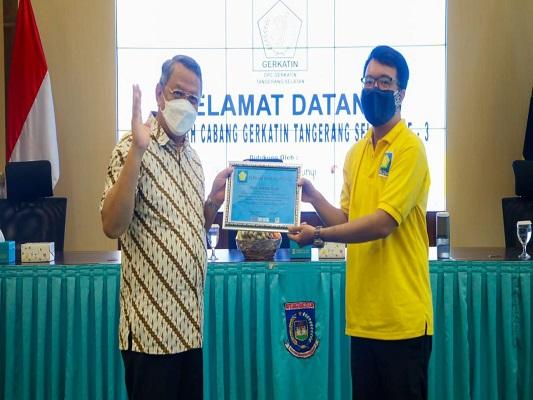 Walikota Tangsel Dukung Pelayanan Isyarat Untuk Tuna Rungu