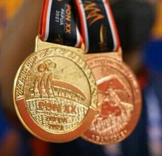 Atlet Bekasi Sudah Meraih 11 Medali Emas, 7 Perak, dan 12 Perunggu di PON XX Papua