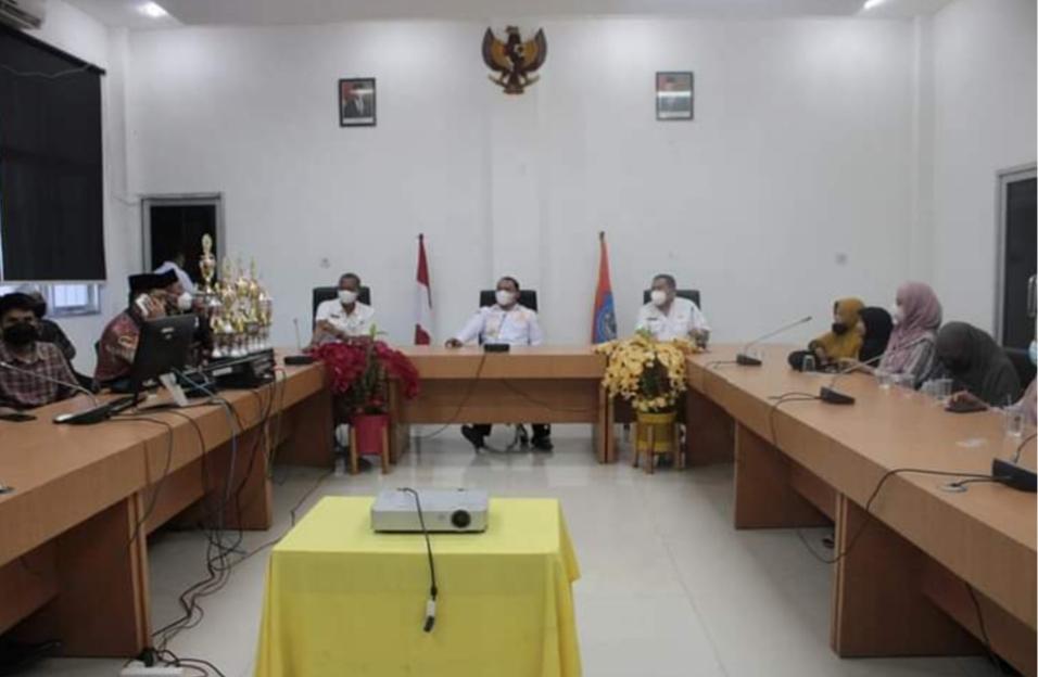 Bupati Labuhanbatu Sambut Kedatangan Kontingen DPD Lasqi Labuhanbatu